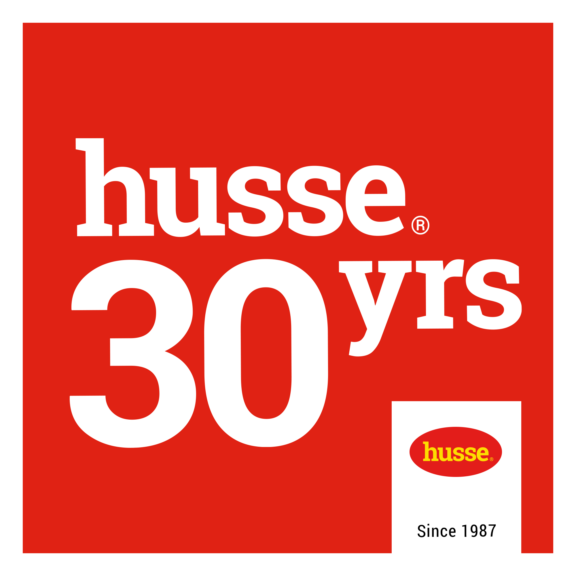 Husse 30 Years